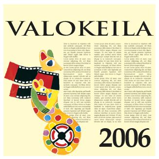 Valokeila 2006 -kansikuva