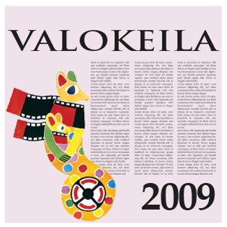 Valokeila 2009 -kansikuva