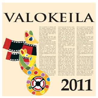 Valokeila 2011 -kansikuva
