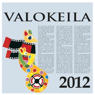 Valokeila 2012 -kansikuva