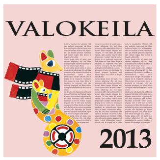 Valokeila 2013 -kansikuva